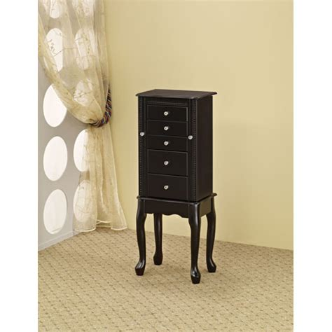 Coaster Jewelry Armoire by Black Style Jewelry Armoire Coaster Furniture
