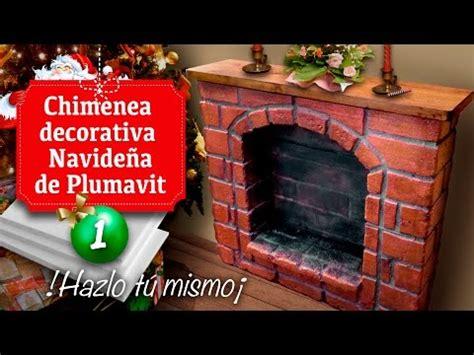 como hacer una chimenea de unicel para decorar el hogar cortador de plumavit 2 0 funnycat tv