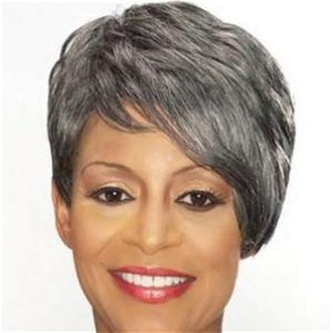 gray hair pieces for american gray hair pieces for black women short hairstyle 2013