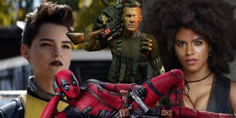 new deadpool trailer all the characters in the deadpool 2 trailer screen rant