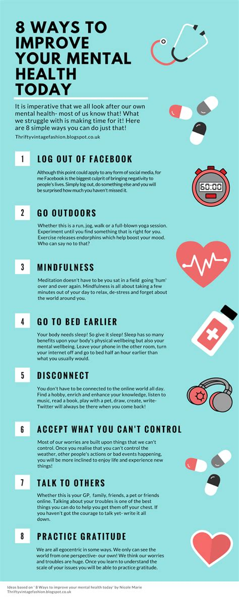 Ways To Improve Your Health Today by 8 Simple Ways To Improve Your Mental Health Today A