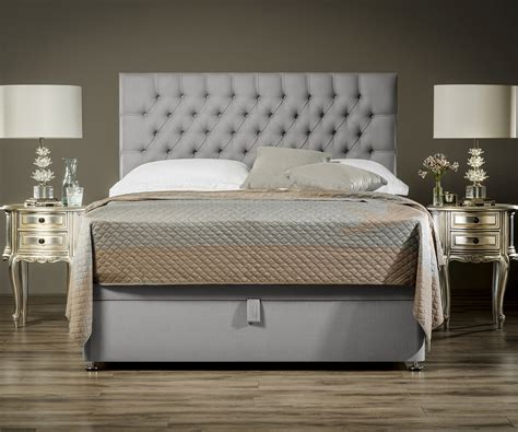 king size ottoman beds with mattress sueno half half ottoman bed exclusive ottoman beds fr