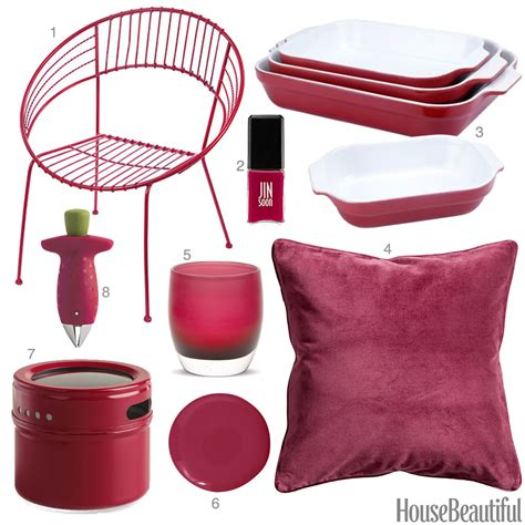 red home decor accessories raspberry red home decor