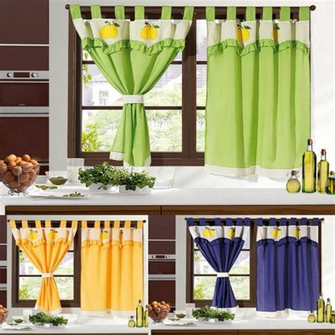 como hacer unas cortinas de cocina como hacer unas cortinas para cocina