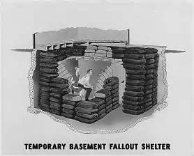 Bomb Shelter Found In Backyard Photographs And Pamphlet About Nuclear Fallout