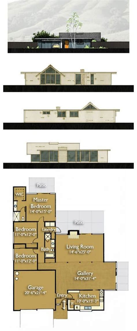 eichler style house plans 17 best images about eichler homes on pinterest mid