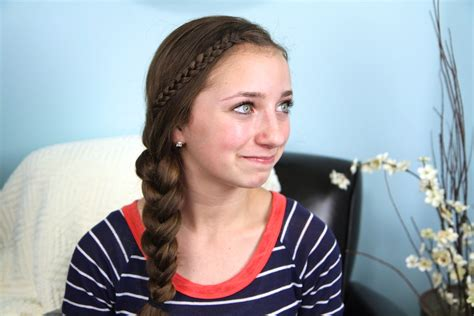 easy hairstyles for middle school graduation the nested braid easy hairstyles cute girls hairstyles