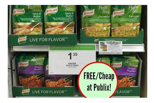 publix knorr coupon