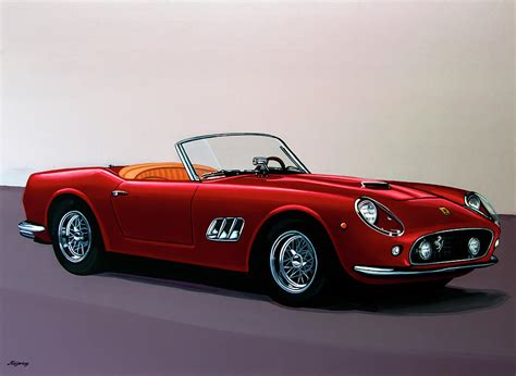 250 gt california spyder 1957 painting painting by