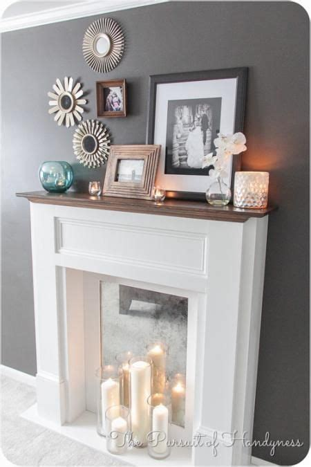 Fireplace Coverings Do Yourself by Faux Mantle Mantles And Home Projects On