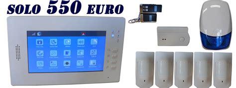 sistemi allarme casa migliore antifurto casa il miglior antifurto con display touchscreen