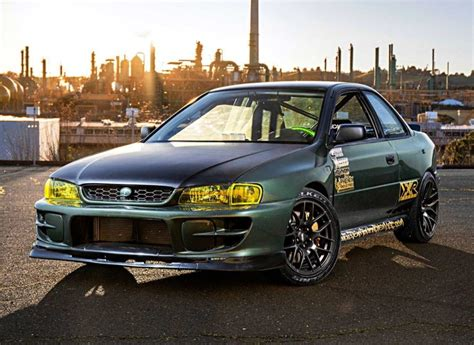 subaru legacy drift car 5 0l v8 powered 1995 subaru impreza drift car for sale on