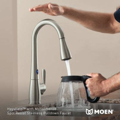 Water Style Kitchen Faucet by Moen Kitchen Faucets Specific Criteria Water Efficiency