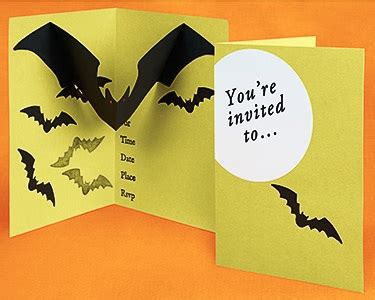 how to: pop up halloween party invitation paper source blog
