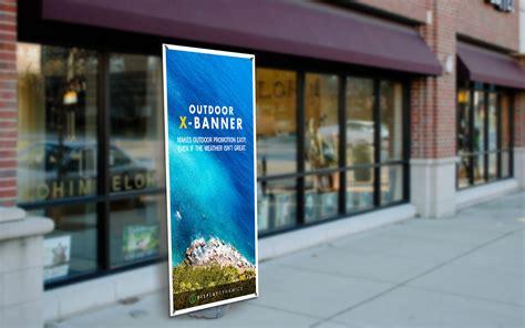 Paket Xbanner Outdoor outdoor x banner outdoor displays display dynamics ltd