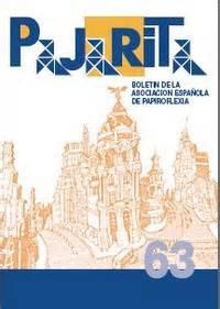 Origami Book Cover - pajarita magazine 63 book review gilad s origami page