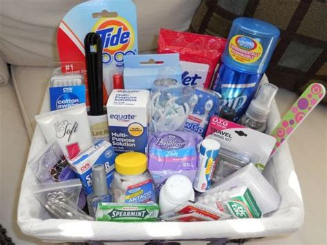 bathroom survival kit bathroom baskets guest survival kits cute idea if you re going all out be our