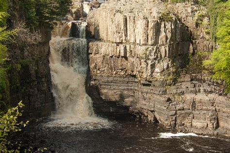 high force waterfall on the river tees photo walking britain pin it like visit site