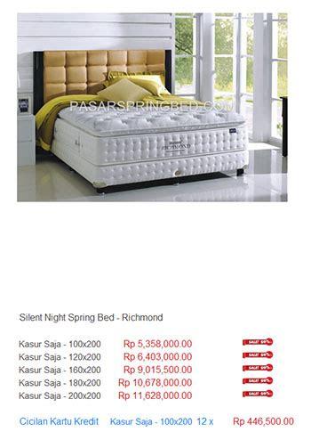 Kasur Bed Di Purwokerto kasur silent harga bed termurah di indonesia