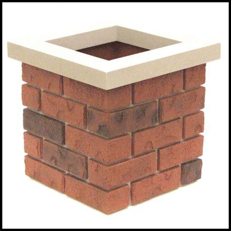 artificial brick planters