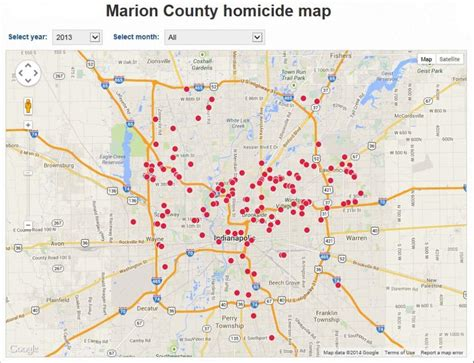 crime map indianapolis what parts of indy should i avoid indianapolis