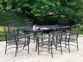 black iron patio furniture patio furniture sets to the atmosphere on the home outdoor