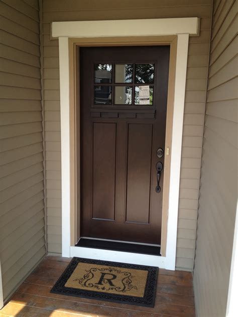 our styled suburban new front door