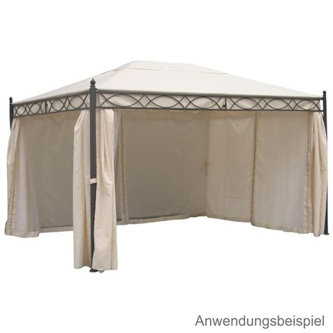 pavillon dach 3x4m wasserdicht ersatzdach ecru pavillon rivoli 3x4m pvc wasserdicht ebay