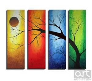 a tree through the 4 seasons of the year my beginner diy board summer