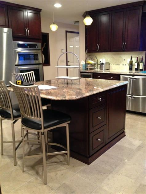 Step2 Lifestyle Kitchen With Green Countertop by Countertops Granite Countertops Ohio Designer Cabinets