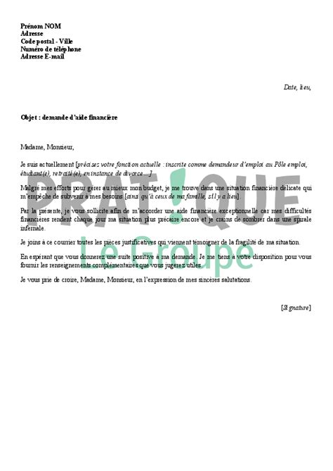 Modèle De Lettre D Intention application letter sle exemple de lettre de demande d
