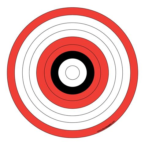 printable targets for archery target practice pictures cliparts co