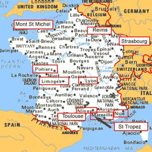 francofiles france towns french cities a to c