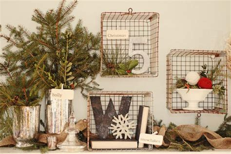 country christmas style decorate country style christmas