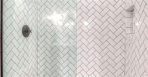 soho white ceramic subway tile     herringbone pattern    white  black hexagon
