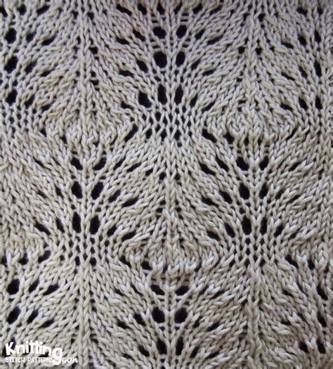 knitted lace patterns lace knitting stitch pattern images