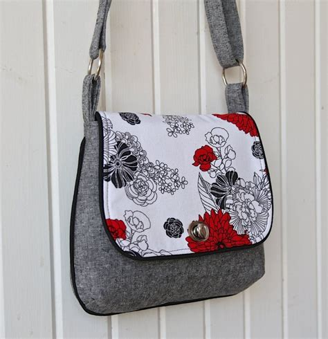 pattern simple bag free the lilac mini messenger pdf sewing pattern free