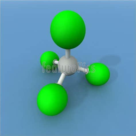 Science: Carbon Tetrachloride Molecule - Stock ... Carbon Tetrachloride Molecule