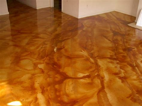 stained acid washed concrete concrete acid wash