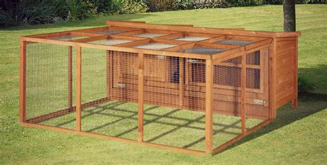 Rabbit Hutch And Run home and roost 4ft chartwell single luxury rabbit hutch
