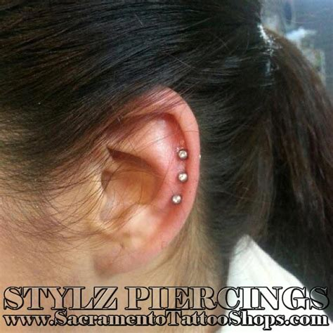 tattoo parlor ear piercing price triple ear piercing prices sacramento