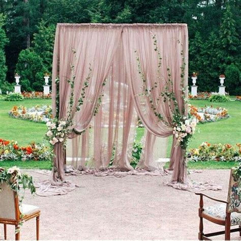 Piping And Draping For Weddings Best 25 Wedding Ceremony Backdrop Ideas On Pinterest