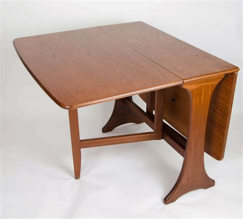 dining table with leaf plans g plan dining table drop leaf teak circa 1950s at 1stdibs