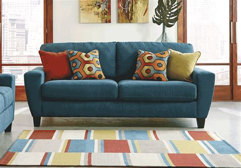 teal sleeper sofa sagen teal sofa sleeper evansville overstock warehouse