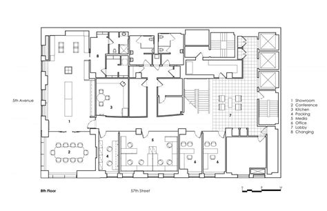 new york boat show floor plan louis vuitton new york offices and showroom in new york by