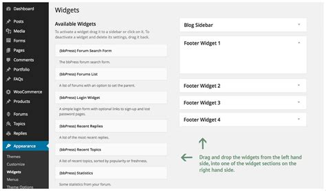 avada theme widgets adding footer widgets theme fusion