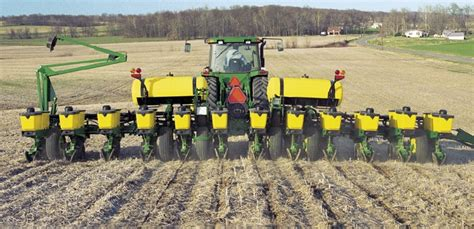 Farm Planters by Deere Planters Developed For Increased Productivity