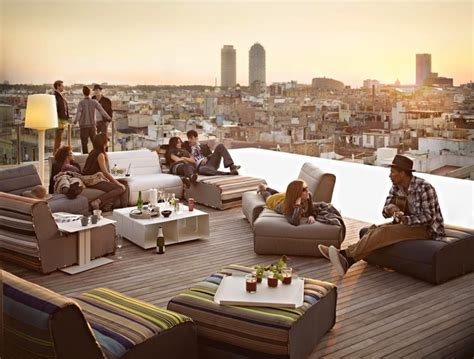 top rooftop terraces in barcelona