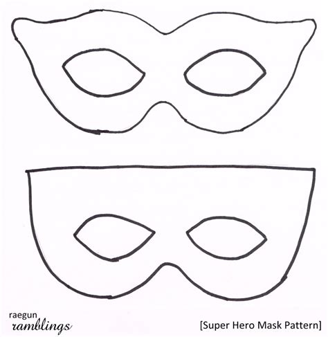 printable masks in color superhero eye mask template printable mask templates