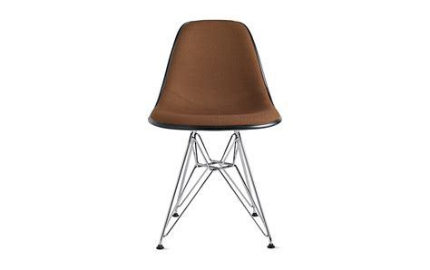 eames upholstered side chair eames molded fiberglass side chair wire base upholstered